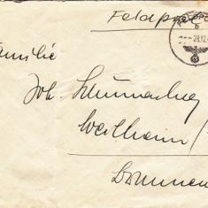 PLICURI GERMANIA, CENZURA MILITARA, CNZ 11 redus - Plic Papetarie