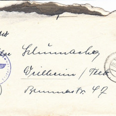 PLICURI GERMANIA, CENZURA MILITARA, CNZ 14 redus - Plic Papetarie