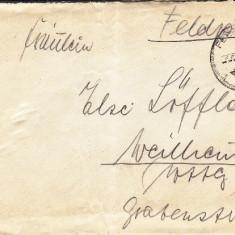PLICURI CENZURATE MILITAR GERMANIA CNZ 17 - Plic Papetarie
