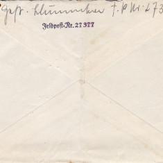 PLICURI CENZURATE MILITAR GERMANIA CNZ 18 - Plic Papetarie