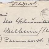 PLICURI CENZURATE MILITAR GERMANIA CNZ 19