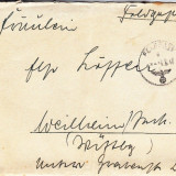 PLICURI CENZURATE MILITAR GERMANIA CNZ 22