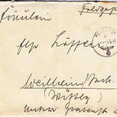PLICURI CENZURATE MILITAR GERMANIA CNZ 22 - Plic Papetarie