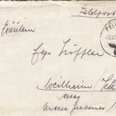 PLICURI CENZURATE MILITAR GERMANIA CNZ 23 - Plic Papetarie