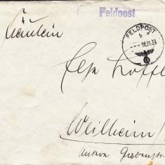 PLICURI CENZURATE MILITAR GERMANIA CNZ 25 - Plic Papetarie