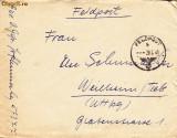 PLICURI CENZURATE MILITAR GERMANIA CNZ 26