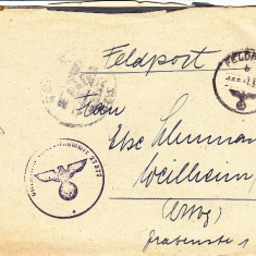 PLICURI CENZURATE MILITAR GERMANIA CNZ 27 - Plic Papetarie