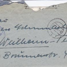 PLICURI CENZURATE MILITAR GERMANIA CNZ 29 - Plic Papetarie
