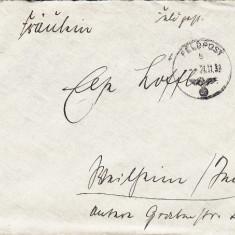 PLICURI CENZURATE MILITAR GERMANIA CNZ 30 - Plic Papetarie