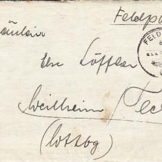 PLICURI CENZURATE MILITAR GERMANIA CNZ 31 - Plic Papetarie