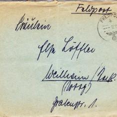 PLICURI CENZURATE MILITAR GERMANIA CNZ 34 - Plic Papetarie