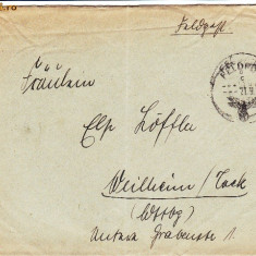 PLICURI CENZURATE MILITAR GERMANIA CNZ 35 - Plic Papetarie