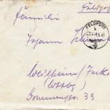 PLICURI CENZURATE MILITAR GERMANIA CNZ 36