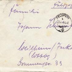 PLICURI CENZURATE MILITAR GERMANIA CNZ 36 - Plic Papetarie