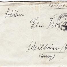 PLICURI CENZURATE MILITAR GERMANIA CNZ 38 - Plic Papetarie