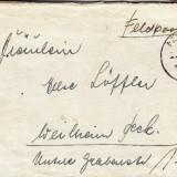 PLICURI CENZURATE MILITAR GERMANIA CNZ 39