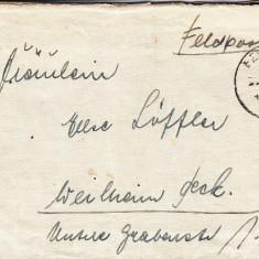 PLICURI CENZURATE MILITAR GERMANIA CNZ 39 - Plic Papetarie