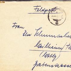 PLICURI CENZURATE MILITAR GERMANIA CNZ 40 - Plic Papetarie