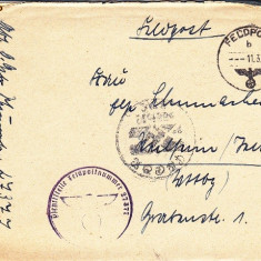 PLICURI CENZURATE MILITAR GERMANIA CNZ 42 - Plic Papetarie