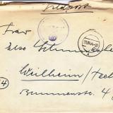 PLICURI CENZURATE MILITAR GERMANIA CNZ 44
