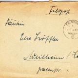 PLICURI CENZURATE MILITAR GERMANIA CNZ 45