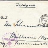 PLICURI CENZURATE MILITAR GERMANIA CNZ 46