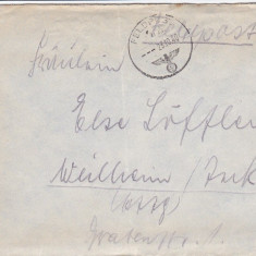 PLICURI CENZURATE MILITAR GERMANIA CNZ 47 - Plic Papetarie