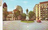 S 6587 BUCURESTI Statua lui MIhail Kogalniceanu circulata