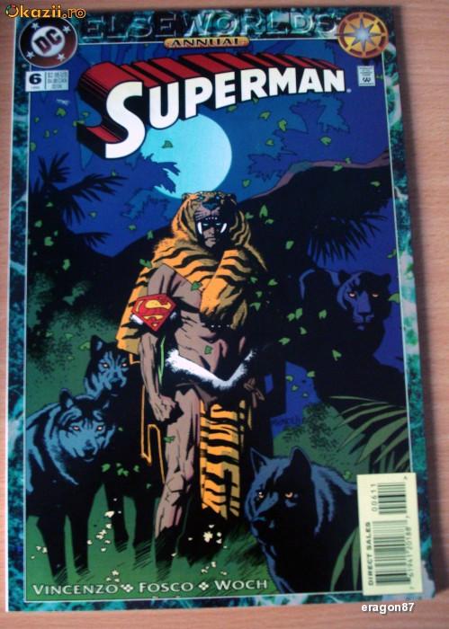 Superman Annual 1994 DC Comics foto mare