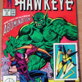 Solo Avengers starring Hawkeye #12 . Marvel Comics - Reviste benzi desenate Altele