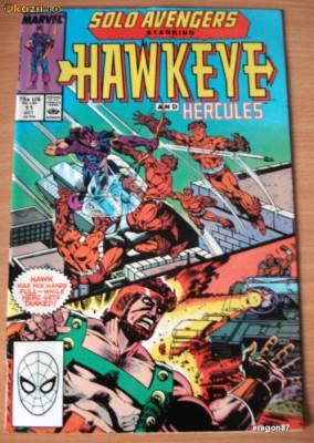 Solo Avengers starring Hawkeye and Hercules #11 foto