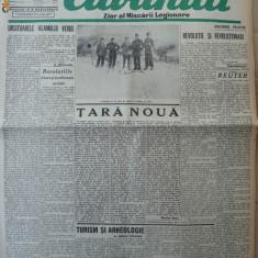 Cuvantul, ziar al miscarii legionare, 17 ianuarie 1941 - Carte Editie princeps