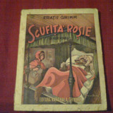 Scufita rosie - Fratii Grimm - interbelica - Carte de povesti