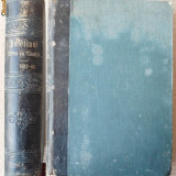 Buletinul Curtei de Casatie, 1862 - 1863, 2 volume in coligat, legatura in piele - Carte Editie princeps