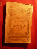 Duiliu Zamfirescu - ANNA -BPT nr.1010-1011-Alcalay - cca 1927