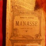 ROMAN RONETTI - MANASSE - cca 1925-BPT nr1012-1013 - Carte traditii populare