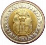 Bnk mnd egipt 1 lira 2008 unc , bimetal
