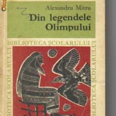 Alexandru mitru - din legendele olimpului - Roman, Anul publicarii: 1968