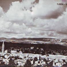 R 8446 Vedere generala din TURDA CIRCULATA - Carte Postala Transilvania dupa 1918