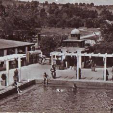 R 8448 Vedere din TURDA-Aspect de la Strand CIRCULATA - Carte Postala Transilvania dupa 1918
