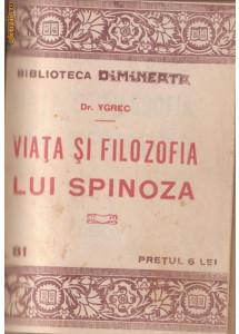 6 carti vechi : Viata lui Spinoza + alte 5 lucrari (Biblioteca Dimineata)