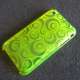 Carcasa iPhone 3G 3GS - editie limitata - YELLOW SHOCK CIRCLE - Husa Telefon Apple
