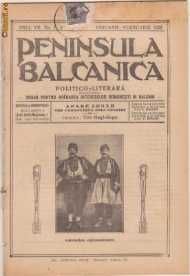 26 nr. revista Peninsula Balcanica,aromanii (1924-1929) foto