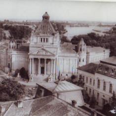 R 7159 ARAD- vedere din Arad spre Mures CIRCULATA - Carte Postala Crisana dupa 1918