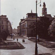 R 7167 ARAD- vedere din Arad CIRCULATA - Carte Postala Crisana dupa 1918