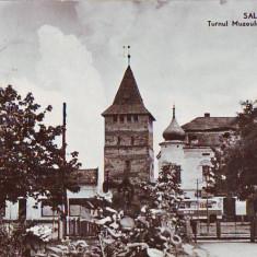 R 8198  SALONTA- Turnul Muzeului Arany Janos CIRCULATA