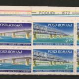 Romania.1972 Poduri  bloc 4  FC.214