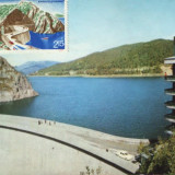 Ilustrata necirculata- Barajul de la Vidraru