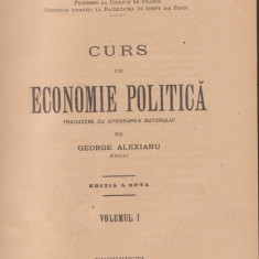 Charles Gide / Curs de Economie Politica (2 volume, 1925) - Curs marketing