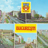 S 6689 BUCURESTI, CIRCULAT 1986 - Carte Postala Muntenia dupa 1918